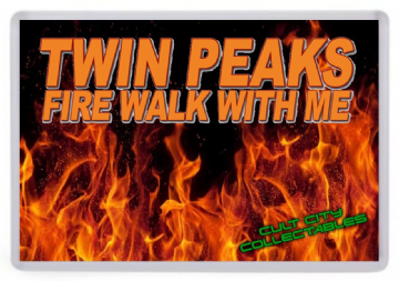 Twin Peaks Fire Walk With Me Fridge Magnet